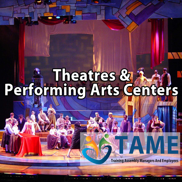 -theatres performing arts centers